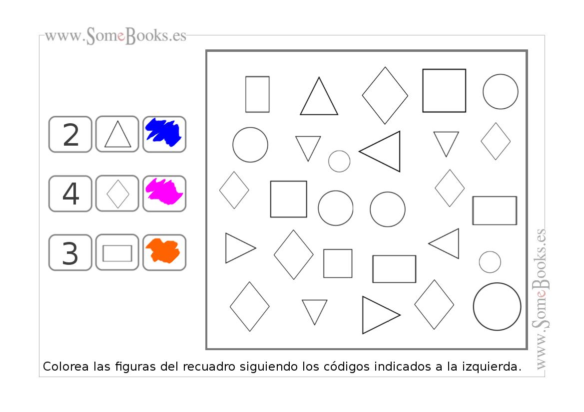Colección de fichas: Infantil de 4 años - Página 5 de 26 - SomeBooks.es
