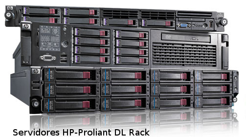 HP-Proliant rack server