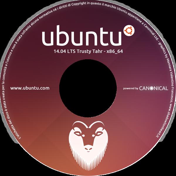 Ubuntu 14.04 DVD