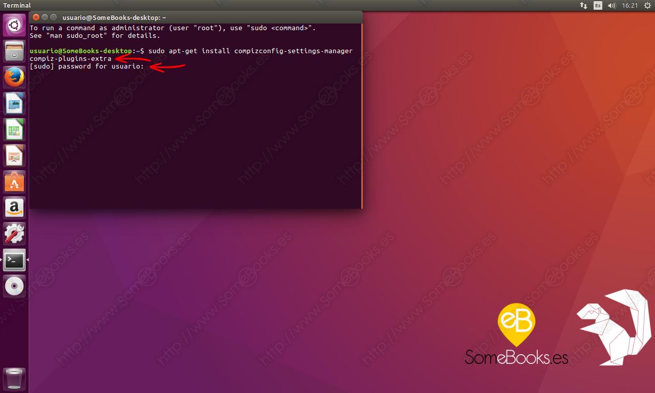 Ventanas transparentes en Ubuntu 16.04 LTS - SomeBooks.es
