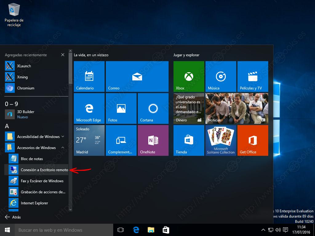 Escritorio remoto de ubuntu en windows 10 con xrdp for Conexion escritorio remoto windows 8