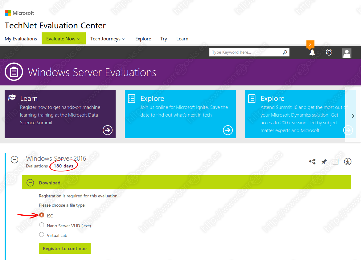 TechNet Evaluation Center