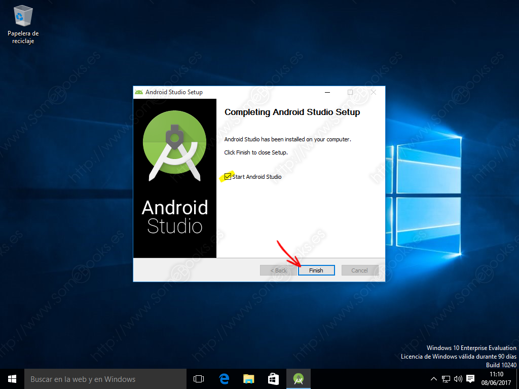 instalar apk en windows 10
