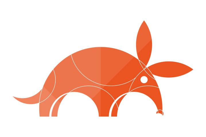 logo de Ubuntu 17.10 (Artful Aardvark)