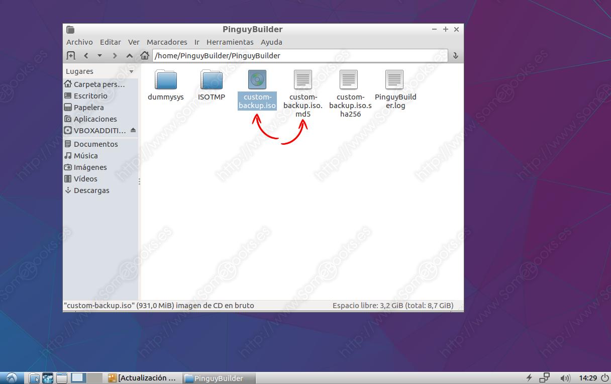Crea un Live-CD de tu instalación de Ubuntu con Pinguy