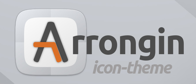 Arrongin icon theme logo