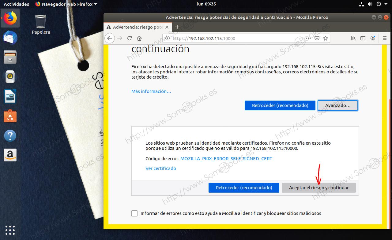 Instala Webmin y administra Ubuntu 18 04 desde el navegador