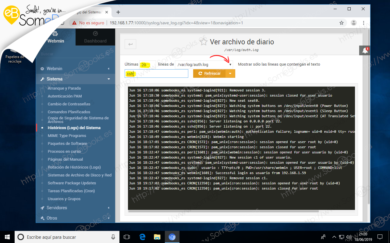 Administrar-eventos-de-Ubuntu-1804-LTS-con-Webmin-005